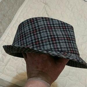 VINTAGE TWEED HAT MISSING LABEL